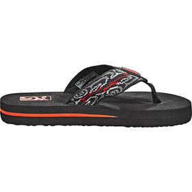 Teva Mush II Sandals Kinder wood stripes black